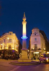 Seven Dials Sundial Pillar